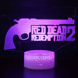 3D lamp RED DEAD REDEMPTION 2