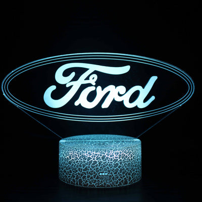 3D Lamps - FORD