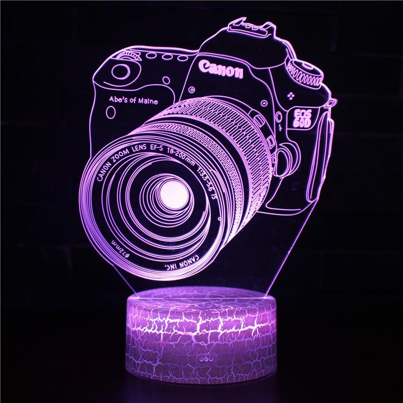 3D lamp canon camera