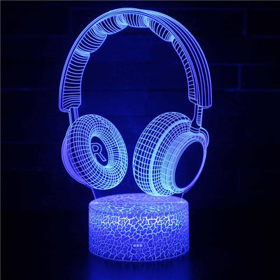 3D lamp Headphones