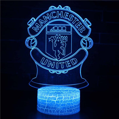 3D lamp manchester united