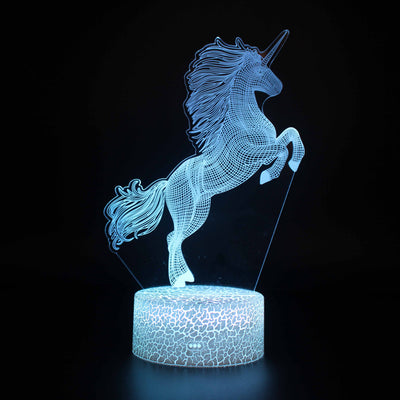 3D lamp UNICORN