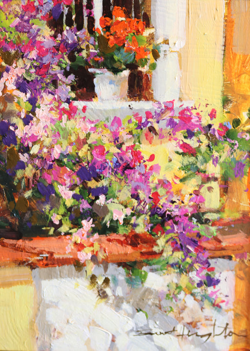 "Sunlite Window - Acrylic on Canvas(Original) by Brent Heighton. 9""(W)x12""(H) - BH267-000RG"