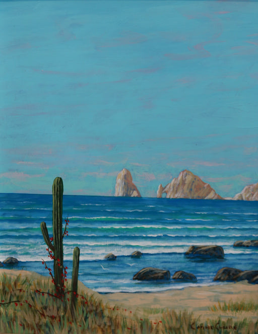 "Cabo Magic - Acrylic on Panel(Original) by Chris MacClure. 11""(W)x14""(H) - CM170-000RG"