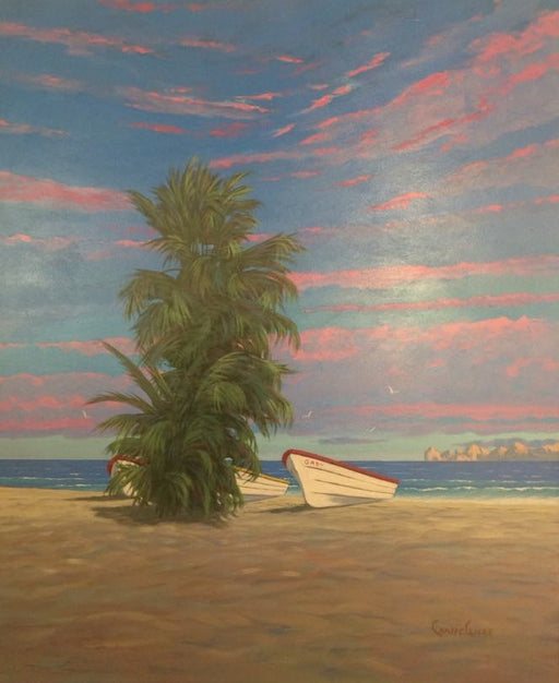"Cabo San Lucas Baja Mexico - Acrylic on Panel(Original) by Chris MacClure. 20""(W)x24""(H) - CM197-000RG"