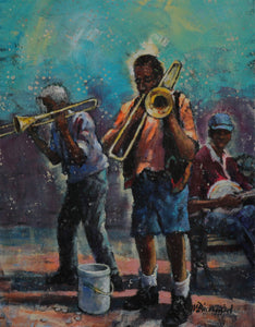 Jackson Square Blues by Richard McDiarmid