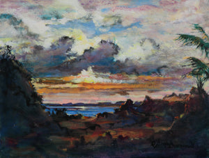 Zacatita Sunset by Richard McDiarmid