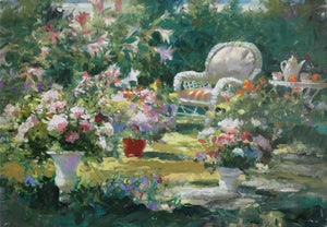 Garden Oasis by Brent Heighton