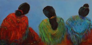 Tres Amigas by Marilyn Hurst
