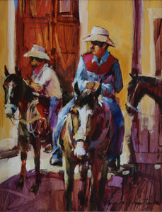 Dos Vaqueros by Brent Heighton