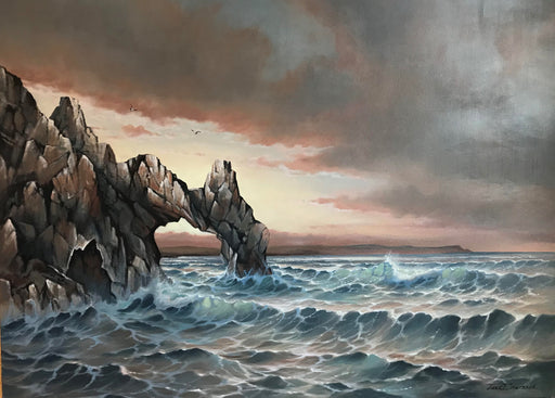 "Cabo Moods -  Oil on Canvas (Original) by Jonn Einerssen. 48""(W)x36""(H) - JE172-000RG"