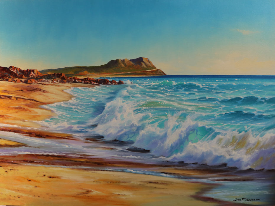 "East Cape Breakers - Oil on Canvas (Original) by Jonn Einerssen. 30""(W)x40""(H) - JE244-000RG"