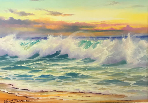 "Golden Shores - Oil on Canvas(Original) by Jonn Einerssen. 23""(W)x19""(H) - JE264-000RG"