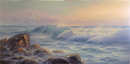 "La Captura - Oil on Canvas (Original) by Jonn Einerssen. 30""(W)x15""(H) - JE280-000RG"