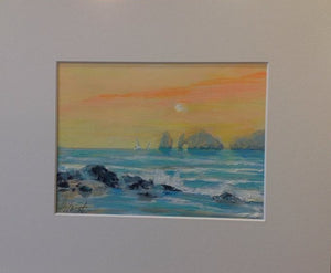 Lands End Sunset by Marilyn Hurst