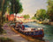 "Along The Canal Du Midi - Acrylic on Canvas (Original) by Richard McDiarmid. 18""(W)x14""(H) - RM200-000RG"