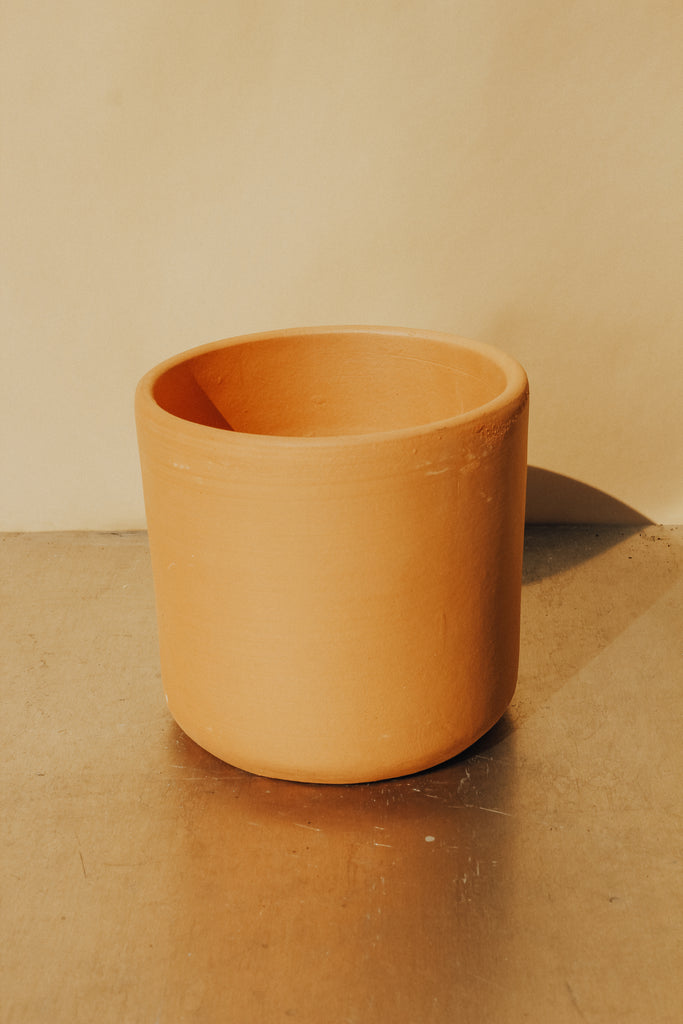 Clay Cylinder Planter
