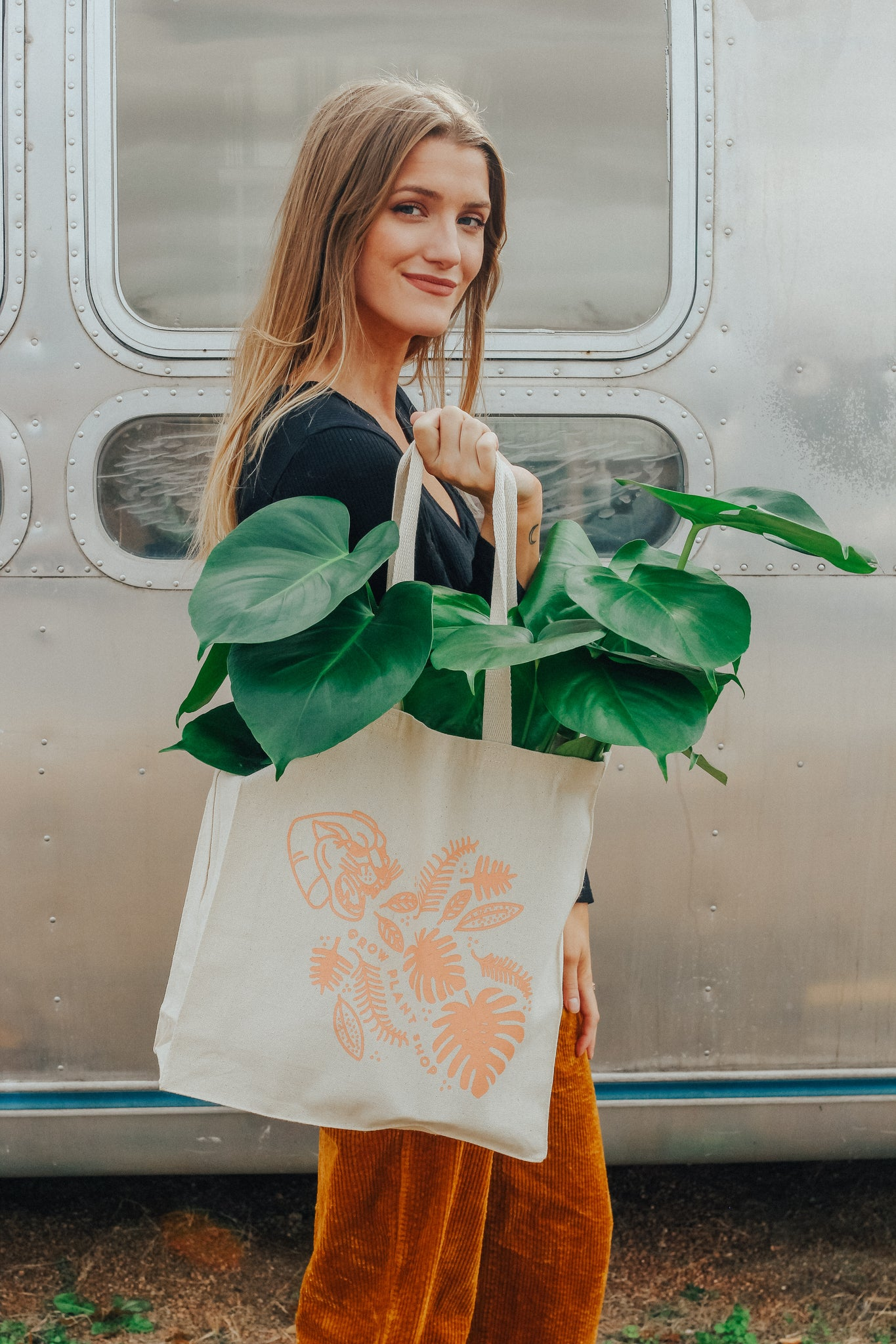Grow Plant Shop Tote Bag