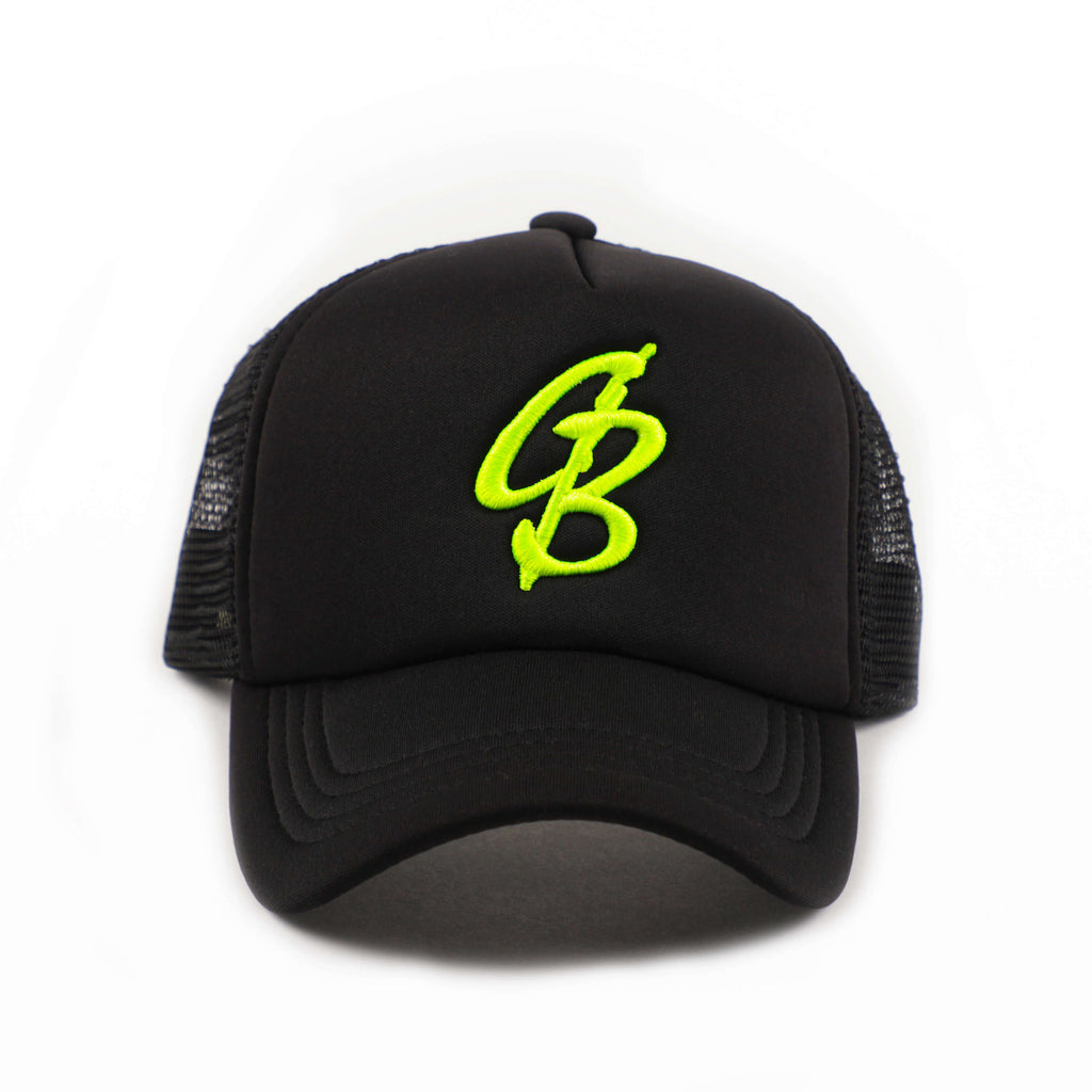CB VOLT Green Snap Back