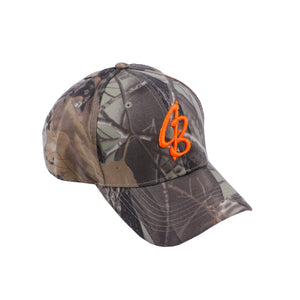 CB Orange Camo Strap Back