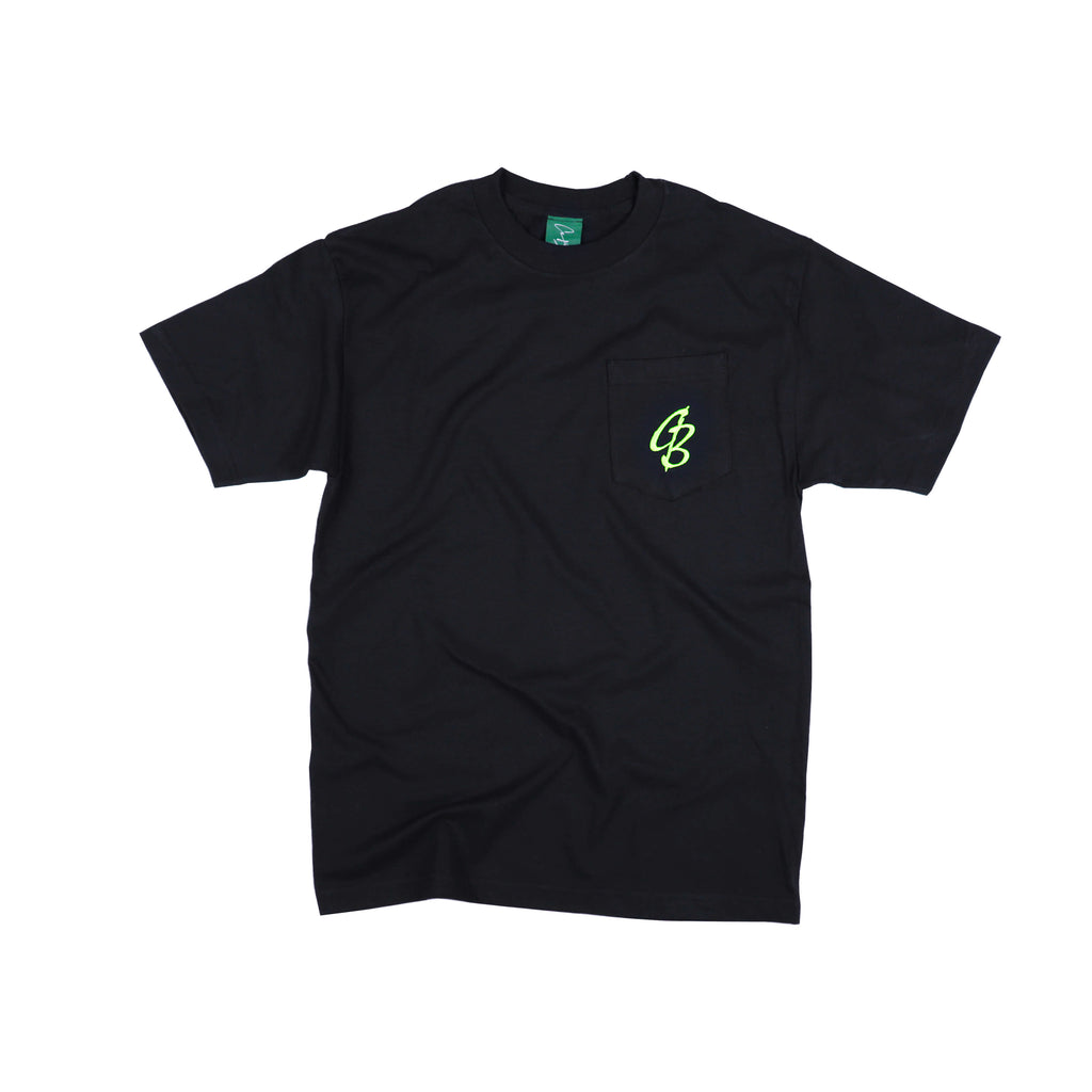 CB VOLT GREEN STAMP POCKET TEE