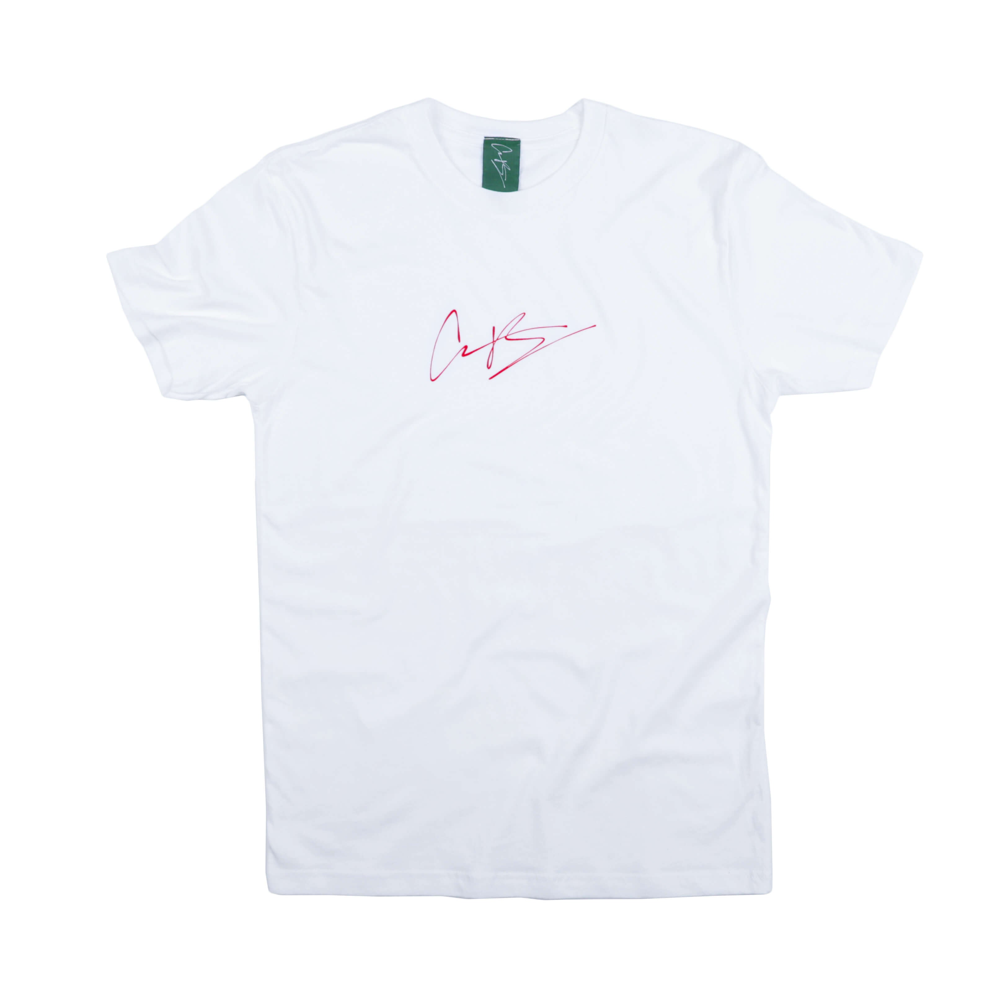 CB SIGNATURE TEE RACE RED