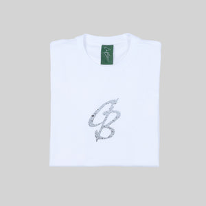 CB Paint Speckle Tee White