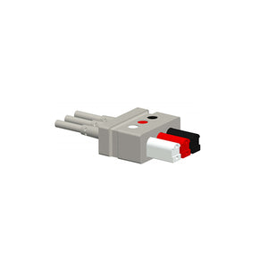 Compatible Mindray 0010-30-42734 ECG leadwires 3 Lead AHA Latex Connector - sinokmed