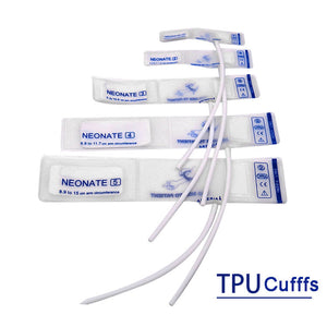 Neonate transparent TPU Cuff Single Tube  Package of 10
