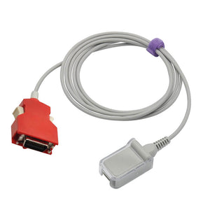 Compatible for Masimo 2056 Red LNC-10 SpO2 Adapter Extension Cable 7.2 ft - sinokmed