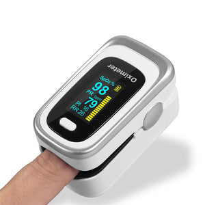 Finger Pulse Oximeter 4 Parameter SPO2 PR PI ODI4 Oximetro De Dedo 8 Hour Sleep Monitoring