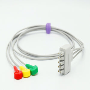 Compatible Marquette ECG Cable Snap Connector IEC European Standard