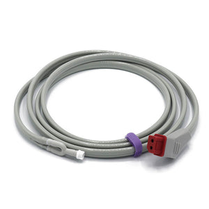 Compatible Nihon Kohden NIBP Hose YN-900P Double Tube Adult/Pediatric