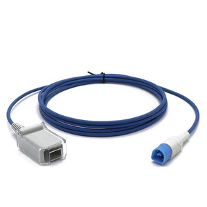 Compatible for Philips-HP-Agilent SpO2 Adapter Extention Cable Masimo Technology 8 Pin 10 ft - sinokmed