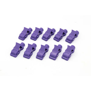 Multi-function  ECG/EKG Banana to Tab Adapters - 989803166031 Purple Package of 10 - sinokmed