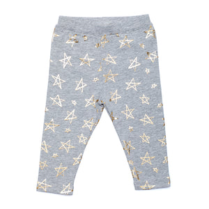 Gold Star Foil Legging