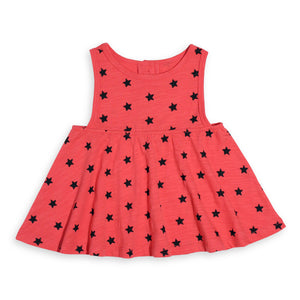 LS Star Tank Dress