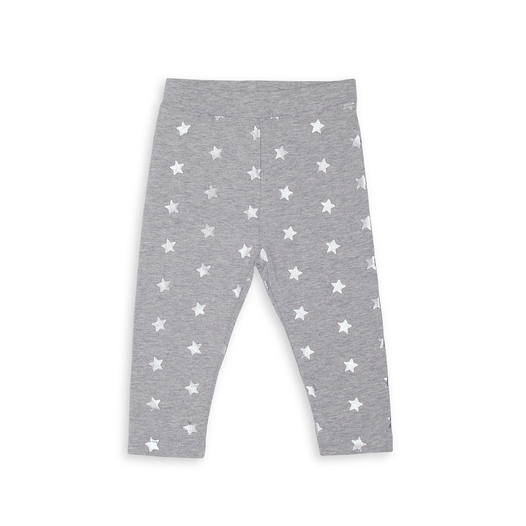 Silver LS Star Legging
