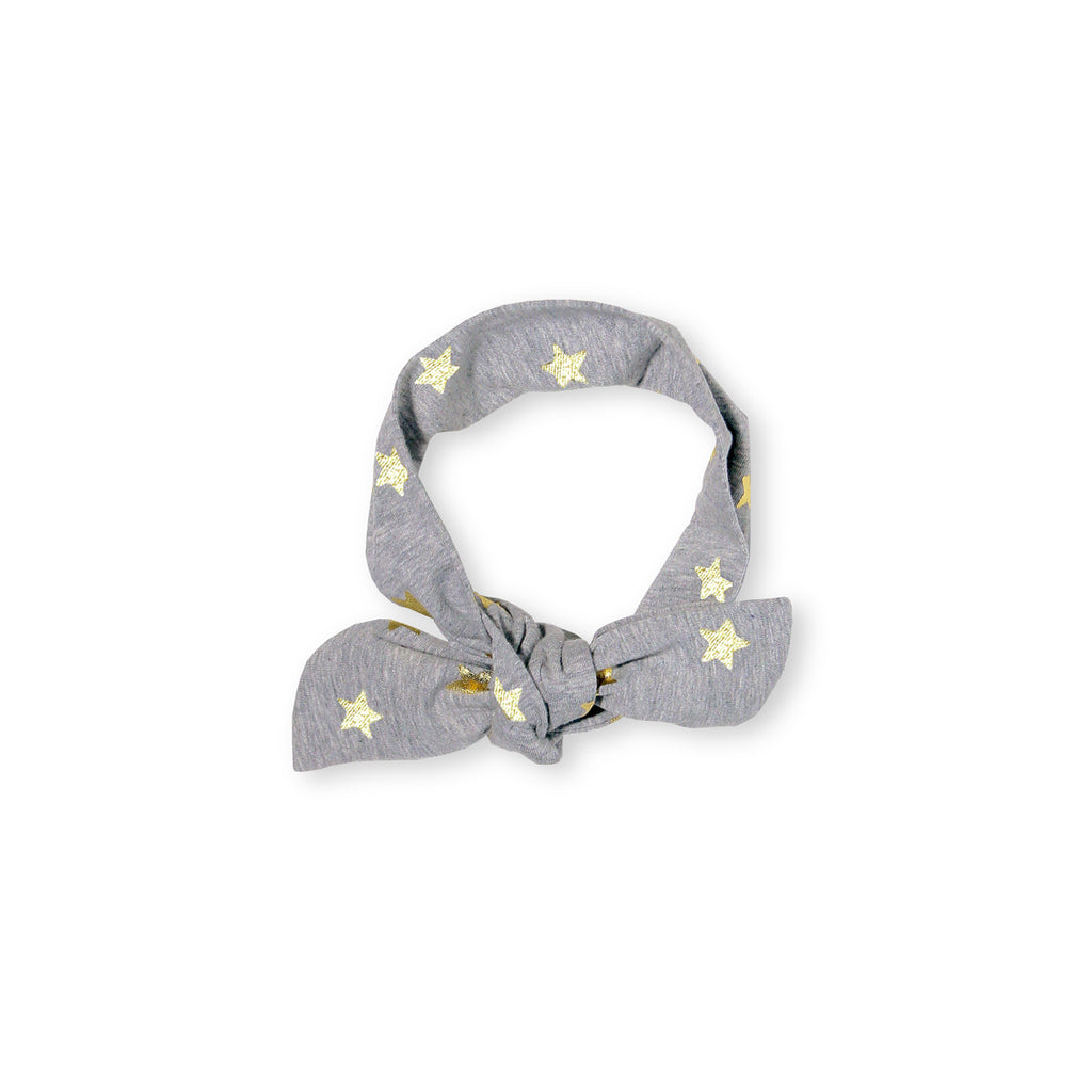 Gold LS Star Headband