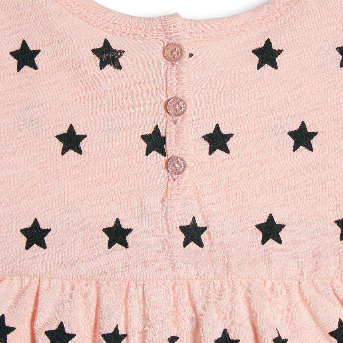 Short Sleeve LS Star Dress