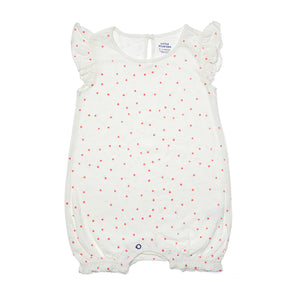 Mini Dot Ruffle Romper