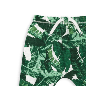 Banana Palm Slouch Pant