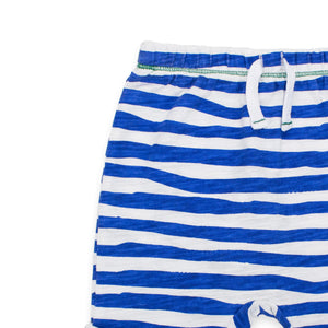 Painted Stripe Slouch Short