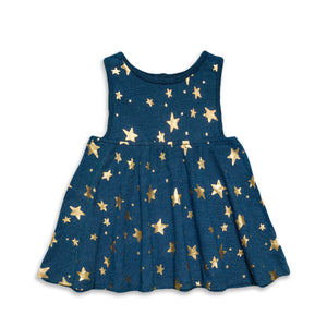 Superstar Indigo Tank Dress
