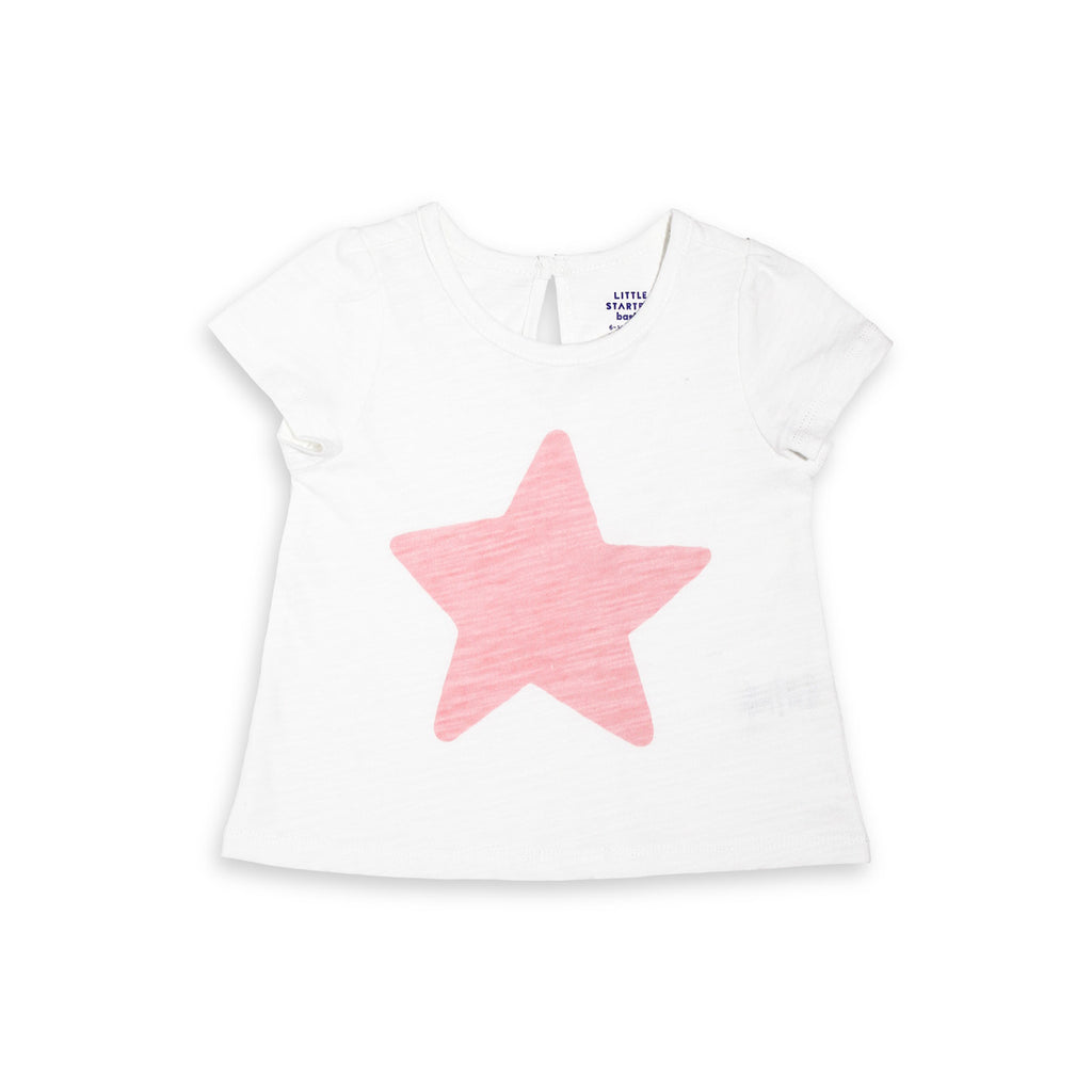 Short Sleeve Star Swing Tee