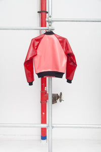 COMME des GARCONS GIRL Pink x Red Bomber Jacket