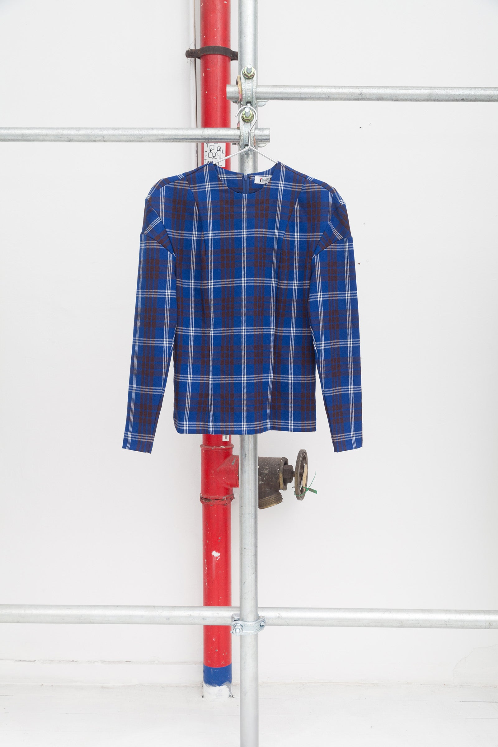 Issey Sport 80's Rework Plaid Top