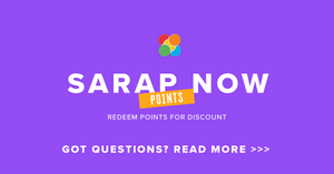 SARAP NOW POINTS FAQS