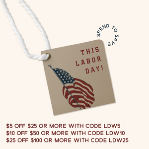 Labor Day Weekend Sale - BUY MORE SAVE MORE
