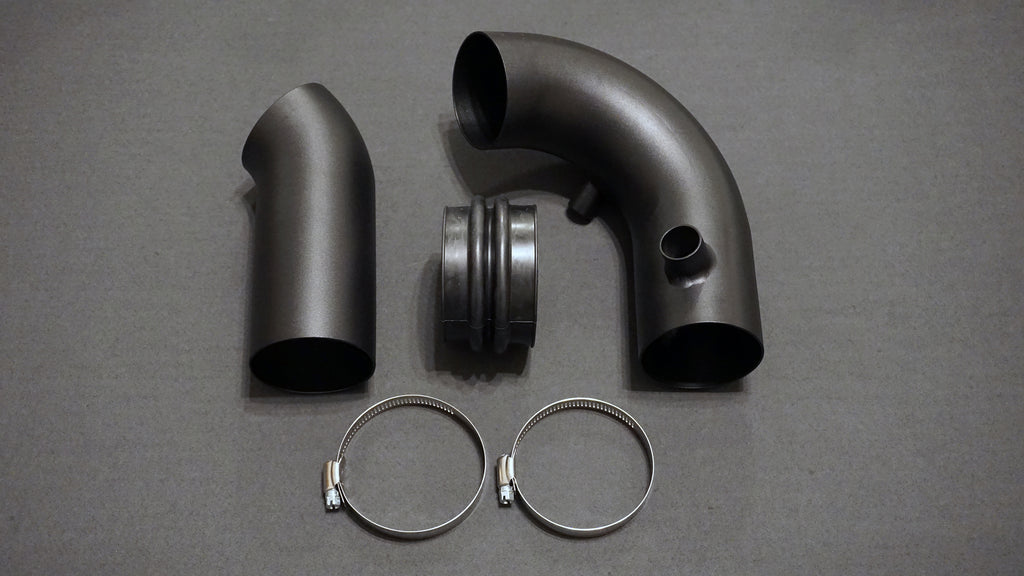 Dinan E36 (Vortech) Supercharger Intake Pipes for Euro Headlights
